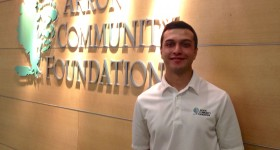 APEX Fellow Marcus Carano '16 works with philanthropy